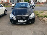 2008 Mercedes A Class, Black, 1.5, Manual, Petrol, LOW Mileage