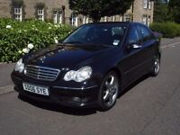 """Mercedes C220 CDI Sport Edition - TIP Automatic- 18"""" AMG Staggered Wheels - STUNNING!-1 Years MOT"""
