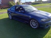 BMW 320cd M SPORT COUPE DIESEL LOVELY CAR LEATHER INTERIOR, FULL SERVICE HISTORY