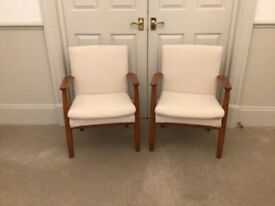 Pair of Vintage Parker Knoll Chairs