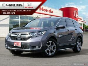 2017 Honda CR-V 1-Owner|Clean Carfax|Sunroof|Leather|Blind-Spot