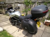 Versys 650 2006 full luggage