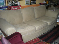 Sofa 3 seater, 2 sets of covers
