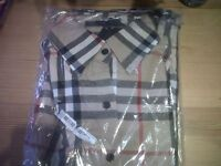 Brand new Ladies Burberry style blouse size M
