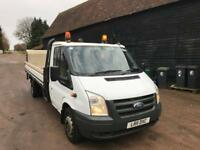 2011 Ford Transit t350 LWB dropside with tail lift