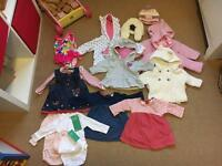 Girls newborn/upto 1 month/0-3 bundle