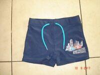 Navy Swimming Trunks