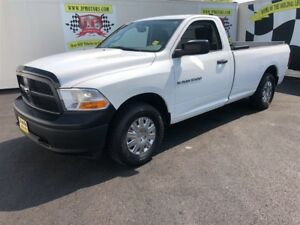 2012 Ram 1500 ST, Regular Cab, Electric Lift Gate, 4x4