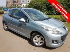 60 PLATE PEUGEOT 207 1.4 MILLESIM Special Edition FULL SERVICE HISTORY