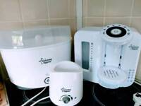 Tommee Tippee Prep Machine tommee Tippee electric steriliser and tommee Tippee bottle warmer