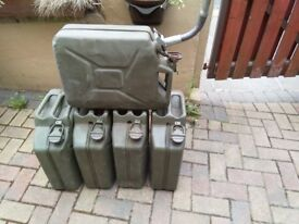 Five Jerry Cans