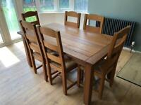 Dining Table & Chairs - Marks & Spencer
