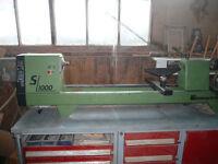 lathe spindle lennartsfors sL1000 turn bench