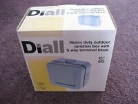 Diall Heavy Duty Outdoor Junction box