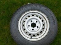 Caravan spare wheel new tyre 165r 13c