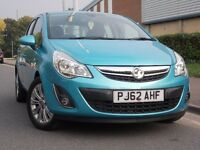 2012 Vauxhall Corsa 1.2 SE 5 door Petrol Hatchback 7,000 MILEAGE ONLY! FULL SERVICE HISTORY