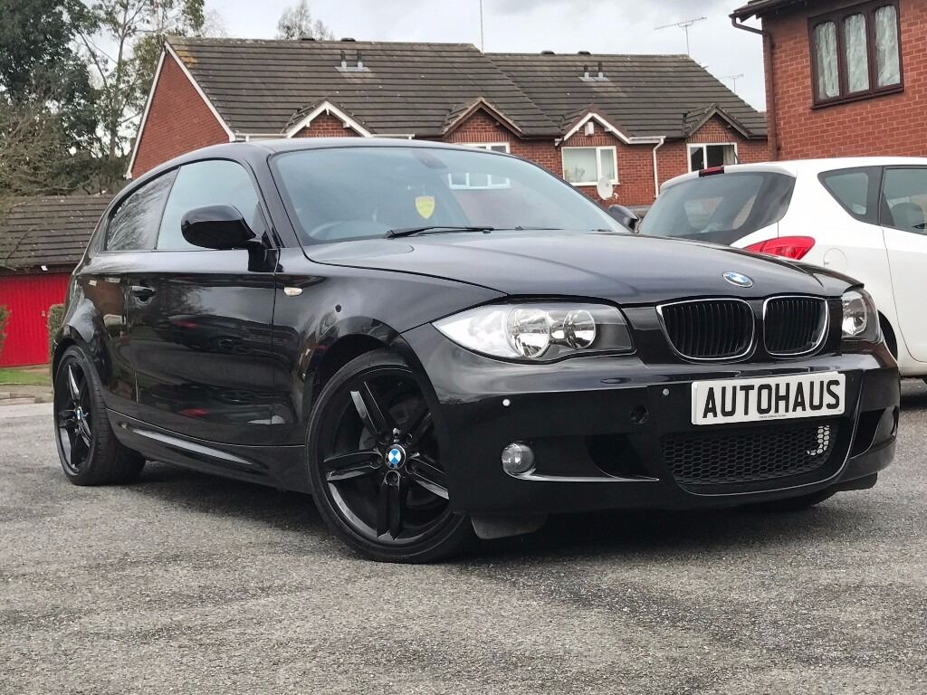 2010 bmw 1 series 2 0 118i m sport 3dr heated leather cruise bluetooth in coventry west. Black Bedroom Furniture Sets. Home Design Ideas