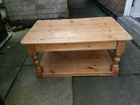 Lovely Antique Pine Coffee Table