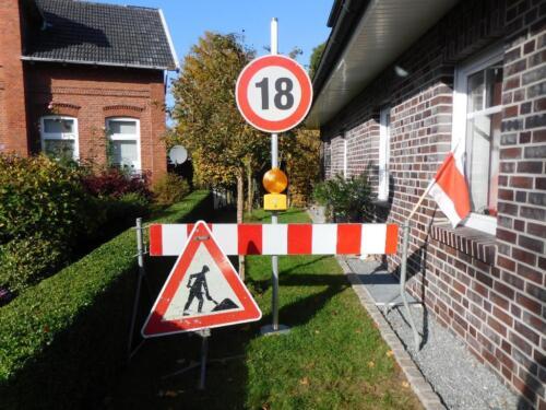 Schilderverleih Zum 18 Geburtstag Baustelle Geburtstagsschild In