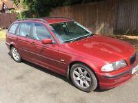 2001 BMW 320 2.2 Petrol Touring Manual Red