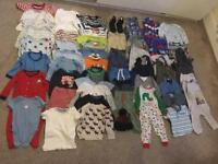 12-18 Months Baby Boy Clothes Job Lot Huge Collection Next etc