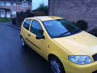 2004 Fiat punto active sport, drives well