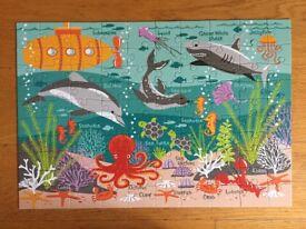 Ocean Life 100 Piece Puzzle