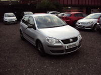 VOLKSWAGEN POLO 1.2 E 5DR HATCHBACK NEW SHAPE LOW MILEAGE CD RADIO SERVICE HISTORY MOT CHEAP RUNNER