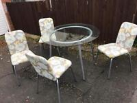 TABLE AND 4 CHAIRS ** FREE DELIVERY AVAILABLE **