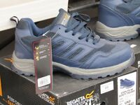 BNIB steel toecap safety trainer blue colour
