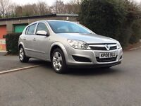 2008 Vauxhall Astra 1.4 Club, Only 70k with full service history, 8 stamps in the book