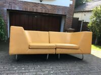 A unique and elegant Frighetto sofa system.
