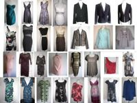 BARGAIN!!!! JOBLOT Bundle of NEW and PRE-LOVED clothes - dresses, top, jackets, coats 30 items