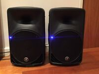 Mackie SRM350 Active Live PA Monitor Speaker Pair