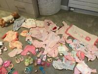 Baby Annabell zapf creations clothes etc doll