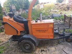Timberwolf woodchipper