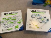 Gravitrax Starter set and Expansion Tunnels- nearly new