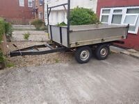 Stong steel trailer