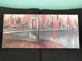 Large New York skyline picture