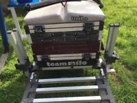 Milo stack match fishing seat box