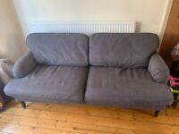 3-person Ikea sofa