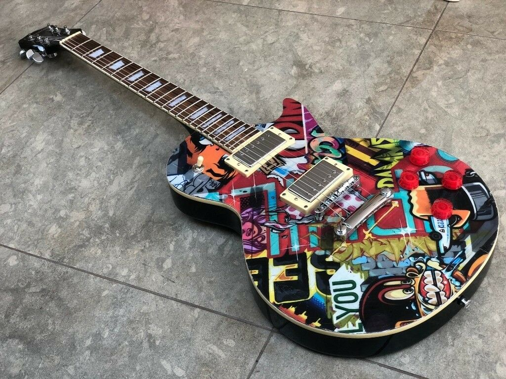 Custom Gibson Les Paul Burstbucker Pickups Jimmy Page Wiring In A