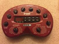 Line 6 Pod 2.0 Guitar Effects Pedal for sale