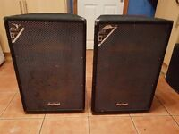 ProSound 250RMS 15 Inch Passive Speakers (PAIR)