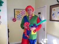 Children's Party Entertainer Kids Magician Balloon Modeller Twister Clown Hire SLOUGH Mascot