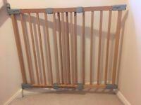 Babydan wooden safety gate