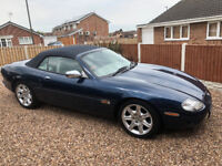 Jaguar XK8 Convertible. Stunning example and one of the first off the line.