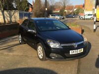 VAUXHALL ASTRA SXI 1.6 HATCH 3DR, BLACK, 2 PREVIOUS OWNERS, VERY LOW MILEAGE