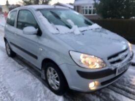 HYUNDAI GETZ DIESEL, CDX 08 REG, 11 month tax and mot , ONLY £30 year tax , NO OFFERS CAN DELIVER