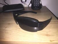 "Genuine Prada ""wrap around"" aviator sunglasses"